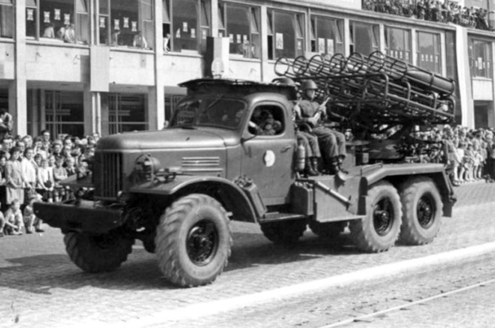 РСЗО БМ-24 (Т) - 240-мм реактивная система залпового огня