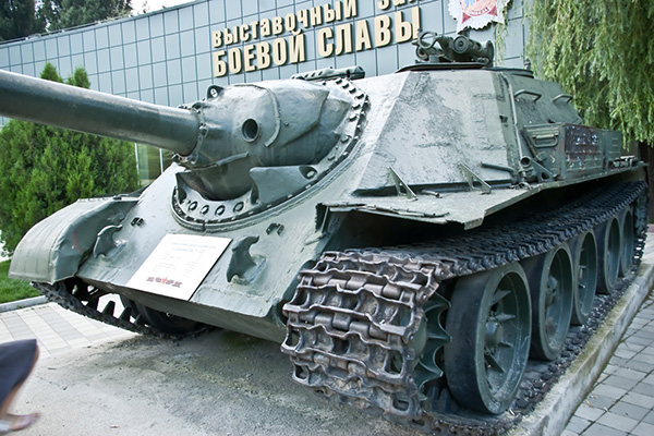 СУ-122-54 - самоходная артиллерийская установка 1950-х годов