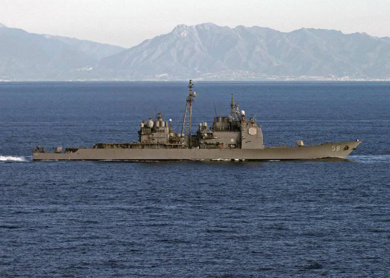 Ракетный крейсер USS Philippine Sea (CG-58)