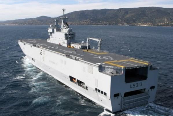 «Мистраль» - универсальные десантные корабли-вертолетоносцы