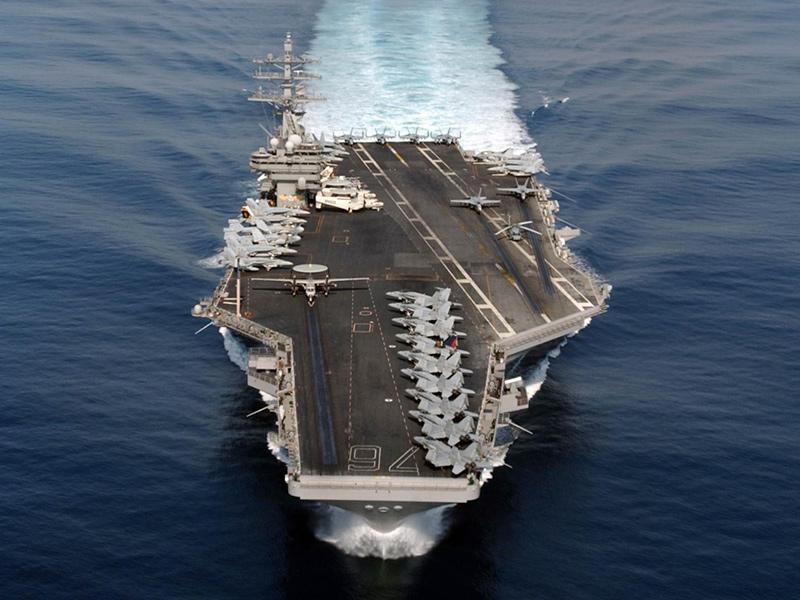 Рональд Рейган - авианосец США