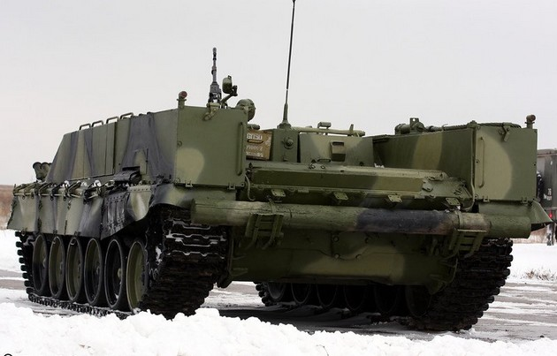 БМО-Т (Объект 564) - тяжелая боевая машина огнеметчиков