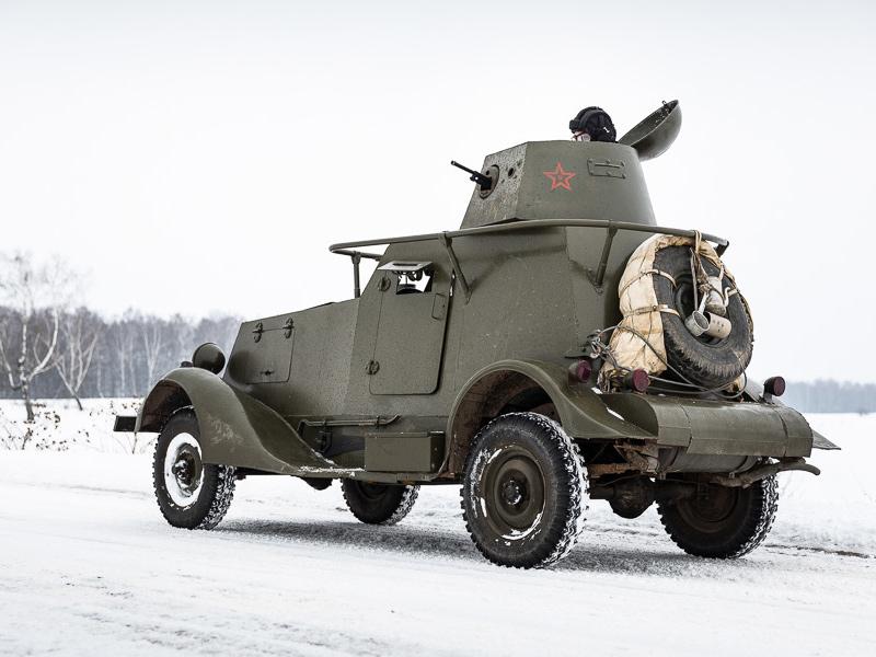 БА-20 - советский бронеавтомобиль
