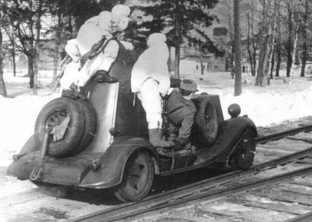 БА-20 - лёгкий бронеавтомобиль
