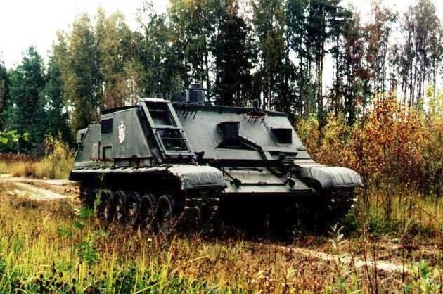 РХМ-7 «Берлога» - машина радиационной и химической разведки войск РХБЗ