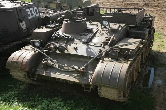 ВТ-55А - советский тягач на гусеничном ходу