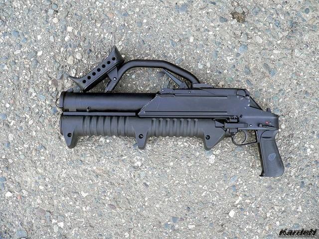 ГМ-94 - российский помповый гранатомет калибр 43-мм