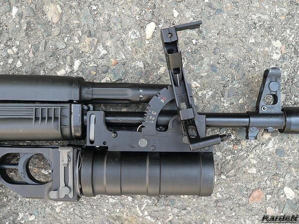 ГП-34 - подствольный гранатомет калибр 40-мм