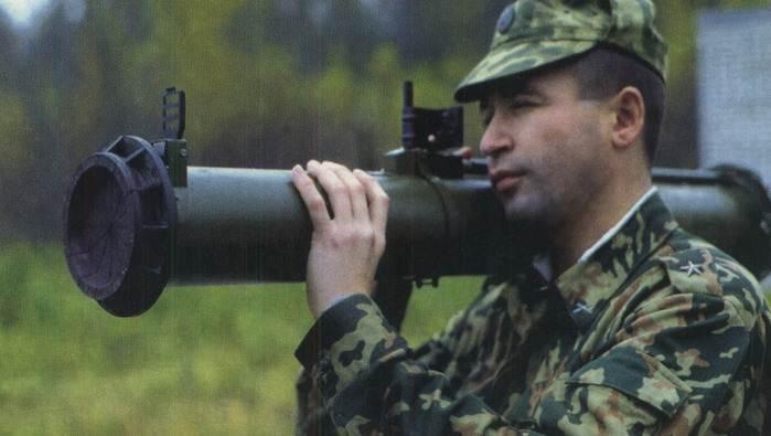 РПГ-27 «Таволга» - ручной противотанковый гранатомет калибр 105-мм
