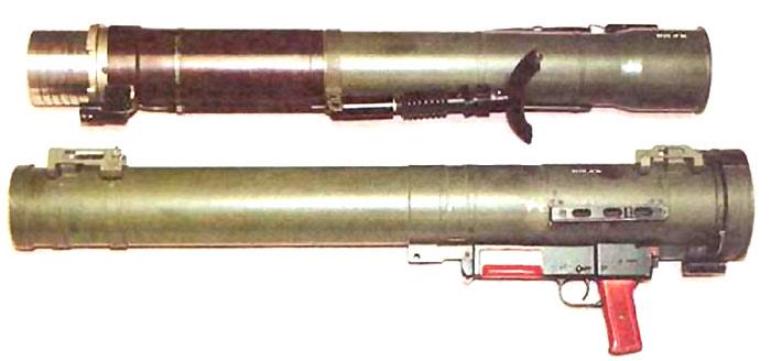 РПГ-29 разобранный для транспортировки