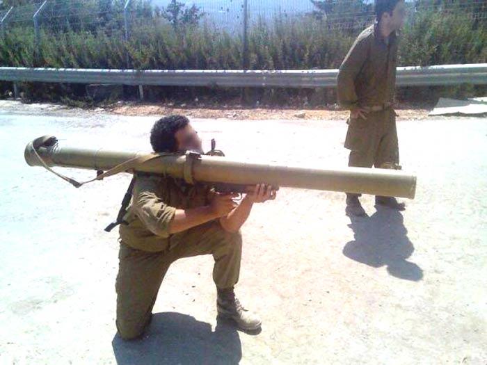 Применение РПГ-29 палестинскими боевиками, 2006 г.