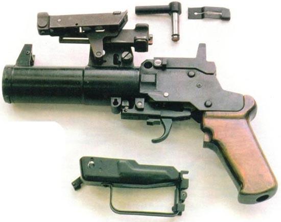 ОКГ-40 «Искра» неполная разборка