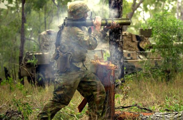 Американский одноразовый РПГ LAW M72