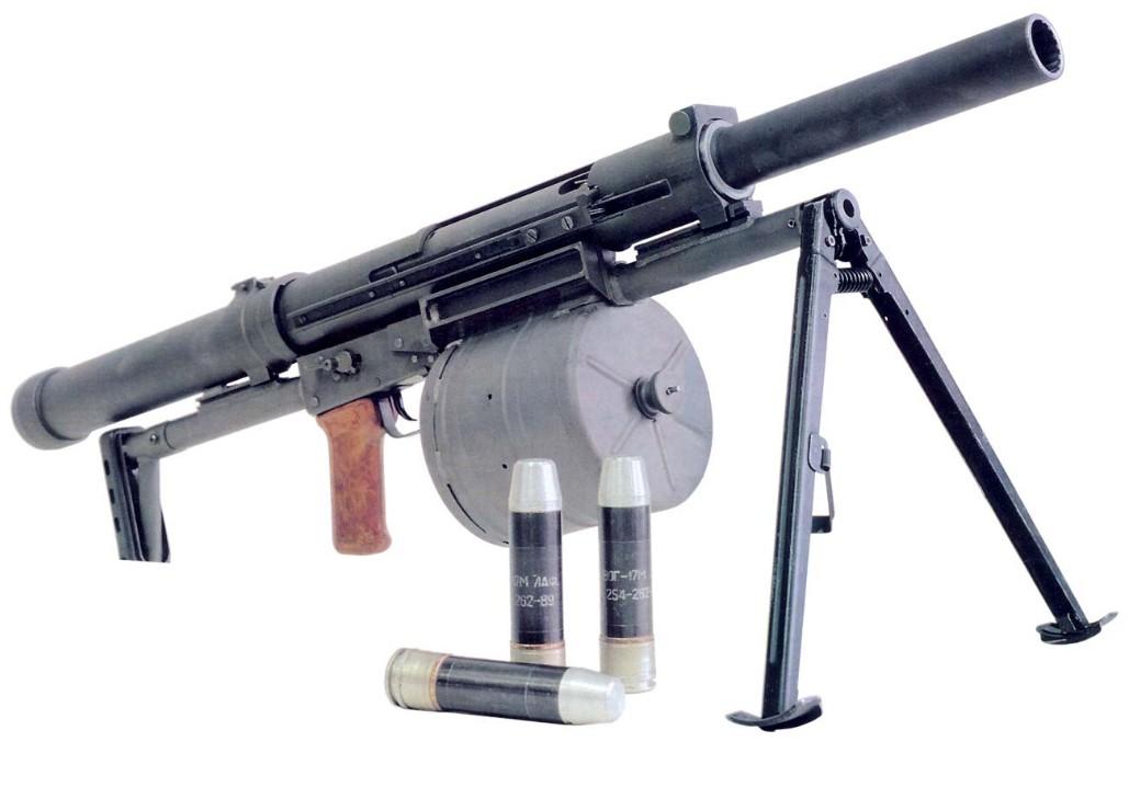 ТКБ-0249 «Арбалет» - российский ручной гранатомет