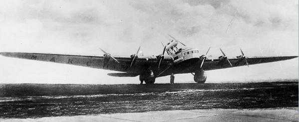 АНТ-20 «Максим Горький» - 8-моторный самолет