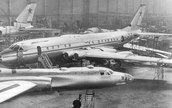 Ту-110 - пассажирский самолет