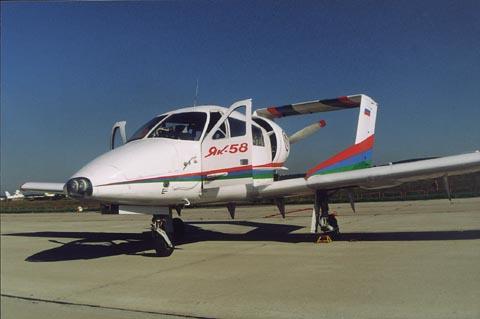 Як-58 - легкий многоцелевой самолет