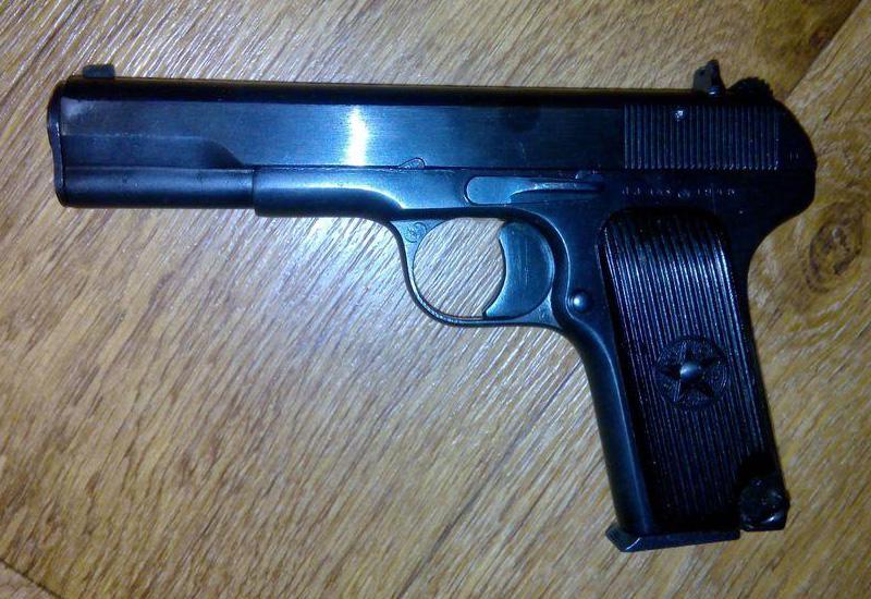 МР-81 - травматический пистолет