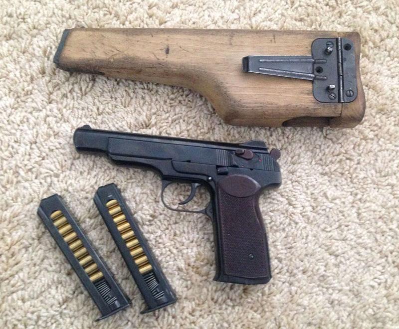 МР-355 - травматический пистолет