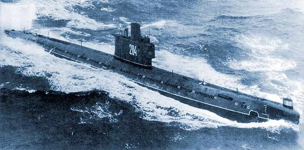 Дизель-электрическая подлодка проекта 633