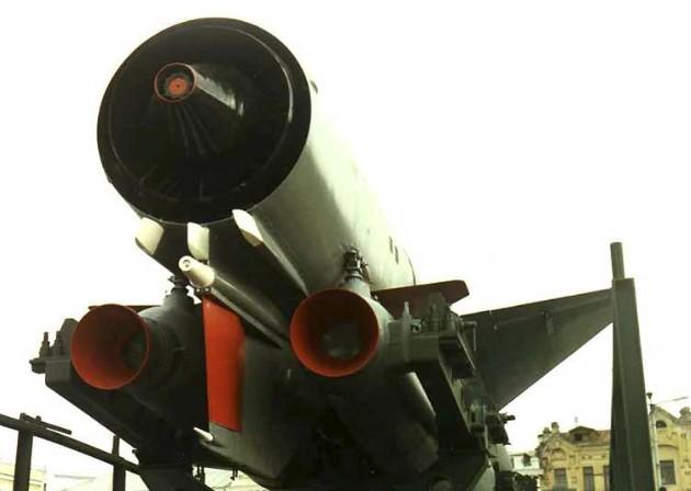 Сопловой блок крылатой ракеты П-500
