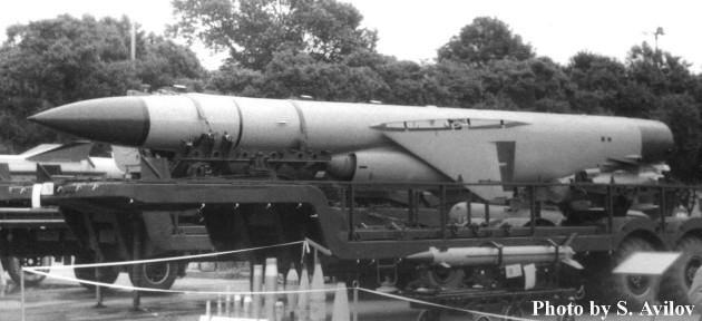 П-500 «Базальт» (4К80) - советская противокорабельная ракета