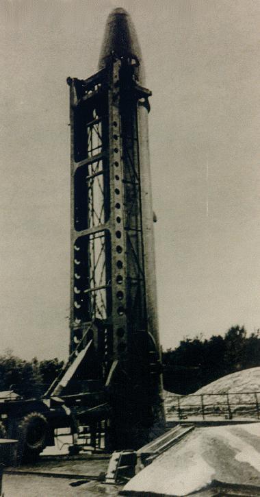 Р-14 8К65 - советская жидкостная одноступенчатая баллистическая ракета