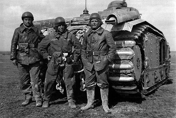 Французский танк Char B1-bis Второй Мировой войны