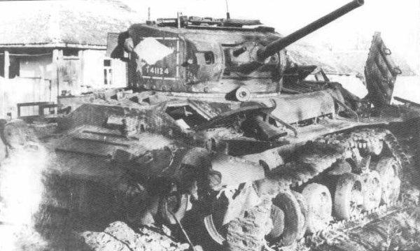 Британский пехотный танк 'Валентайн'