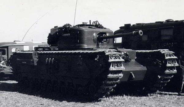 Пехотный танк «Черчилль» (A22)
