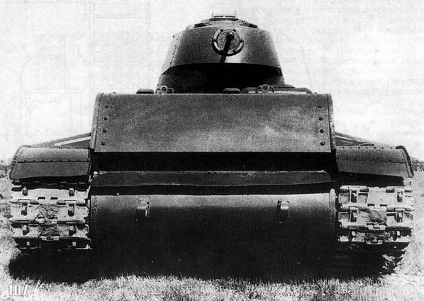 СМК - экспериментальный тяжелый танк