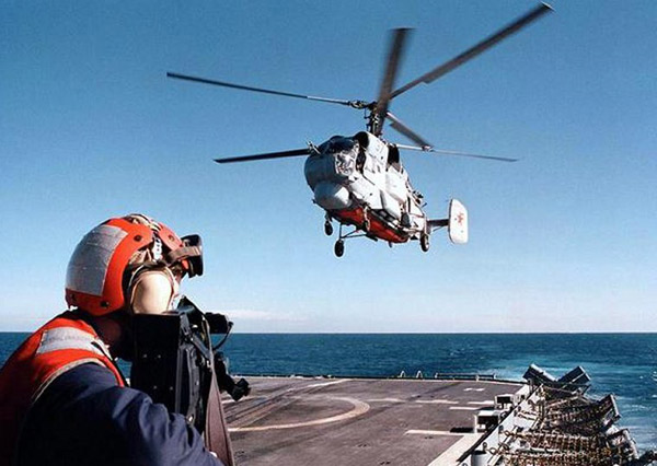КА-25 противолодочный вертолёт