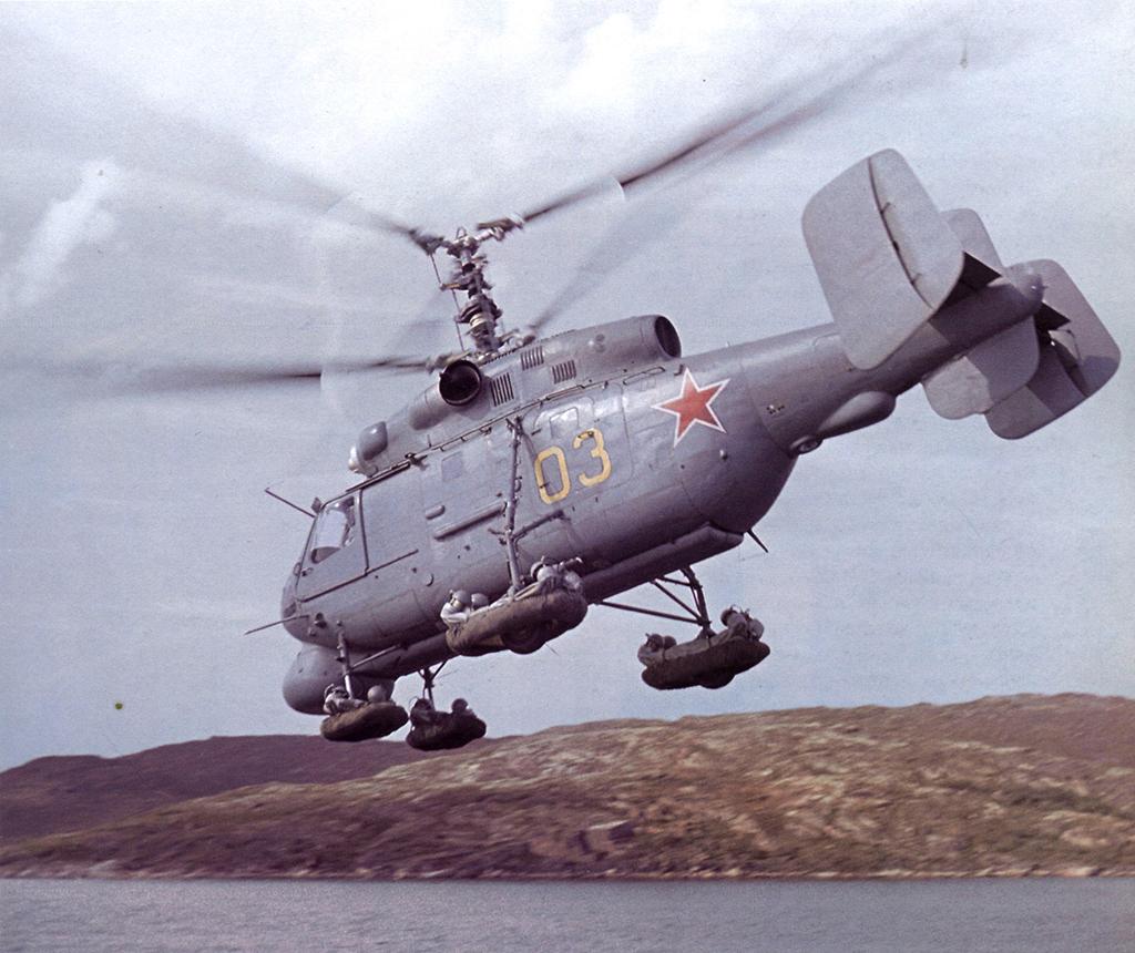 Ка-25 - противолодочный вертолет корабельного базирования