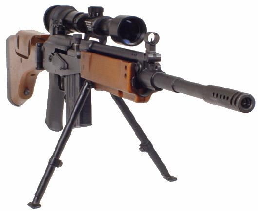 Галил (GALATZ) 7,62 мм - израильская снайперская винтовка