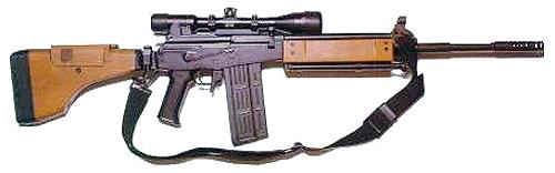 GALATZ (Галил) - израильская снайперская винтовка 7,62-мм
