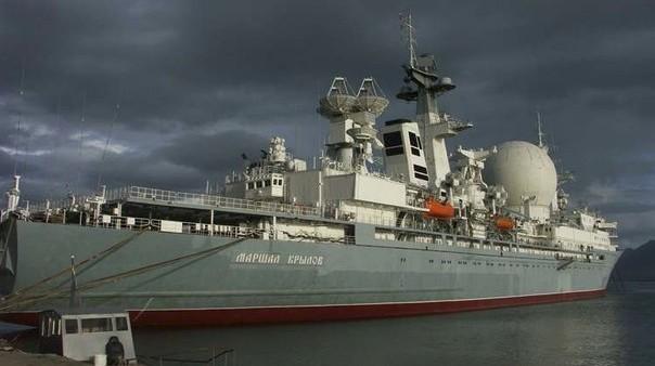 КИК «Маршал Крылов» - корабль измерительного комплекса проекта 1914.1