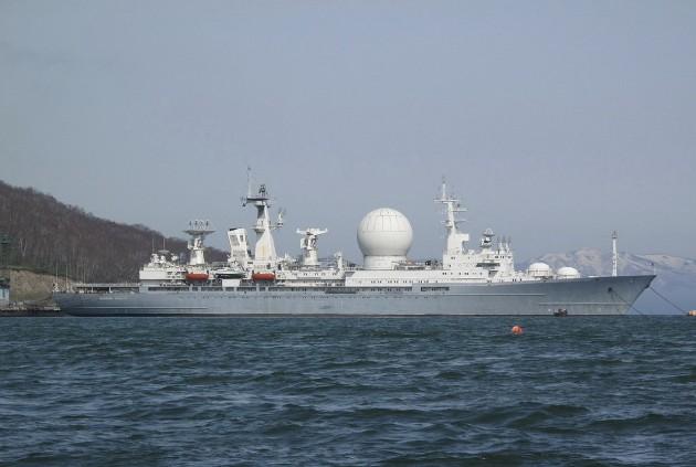 Фото корабля 'Маршал Крылов' на своей стоянке
