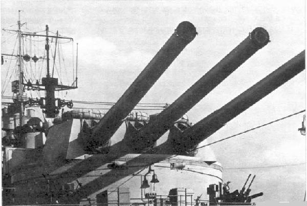 Итальянский линкор «Литторио» времён Второй мировой войны