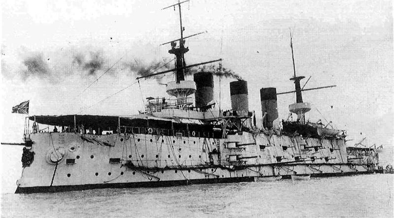 Броненосец «Пересвет» на Дальнем Востоке 1902 г.