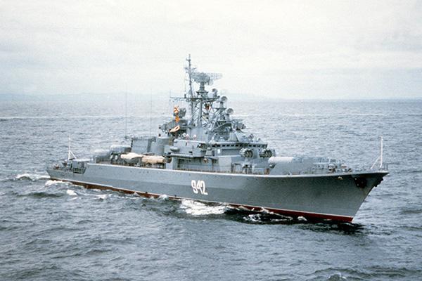 Сторожевые корабли проекта 1135М 'Буревестник' (тип 'Резвый')