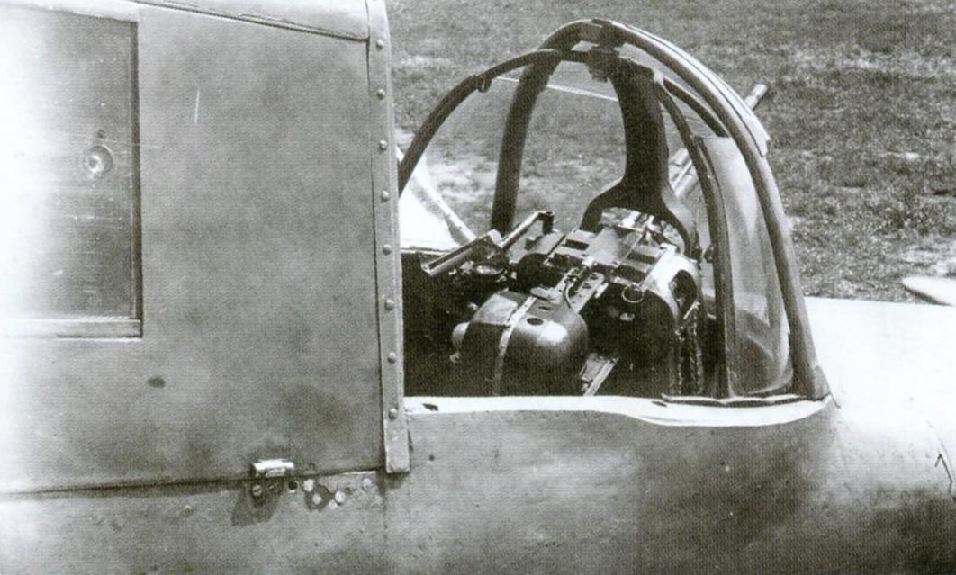 Открытая кабина стрелка Ил-10