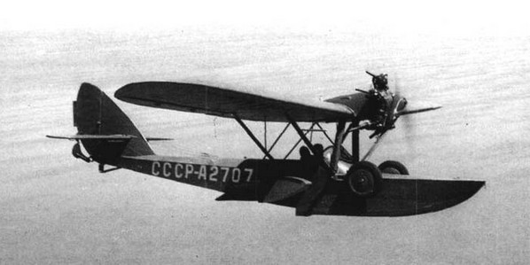 Ш-2 - самолет-амфибия