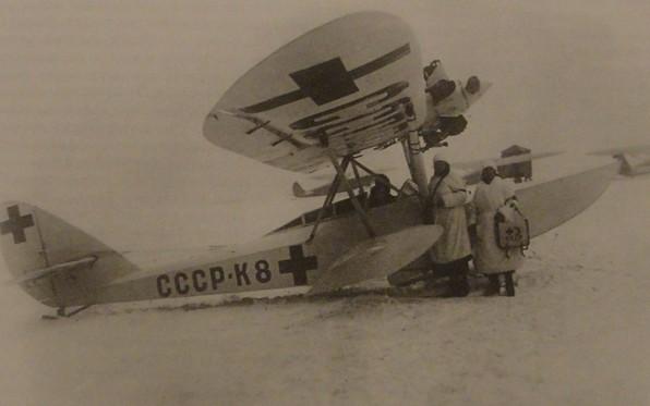 Санитарный самолет-амфибия Ш-2С