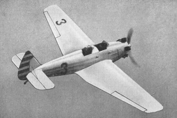 УТ-2 - учебно-тренировочный самолет