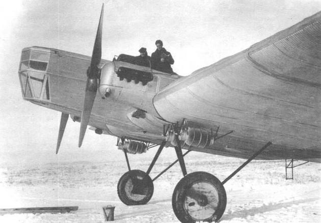 ТБ-1 (АНТ-4) - тяжелый бомбардировщик