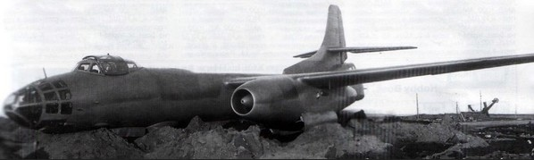 Аварийная посадка бомбардировщика Ту-14