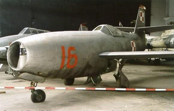 Як-23 Польских ВВС