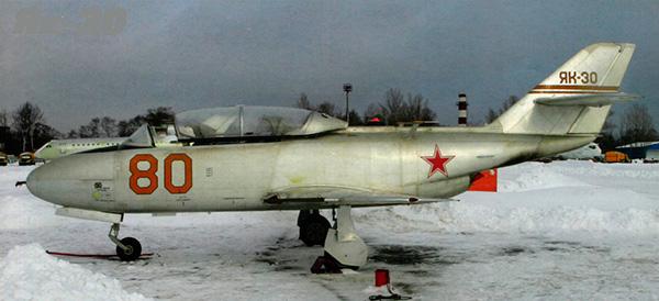 Як-30 - реактивный учебно-тренировочный самолёт