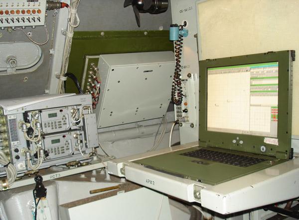 9С482М7 (ПУ-12М7) - батарейный подвижной пункт управления