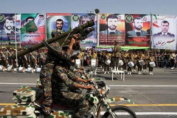 Фото ПЗРК 9К34 «Стрела-3» используемое иранскими военнослужащими